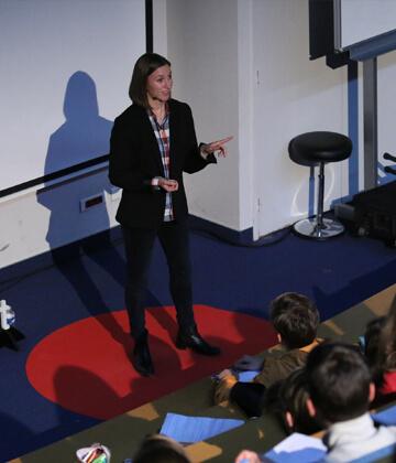 Pauline Bediot, conférence TedX